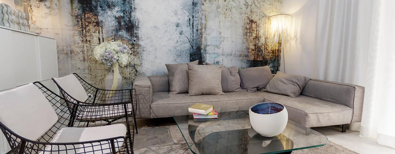 Projecto Sala: Salas de estar  por MyStudiohome - Design de Interiores