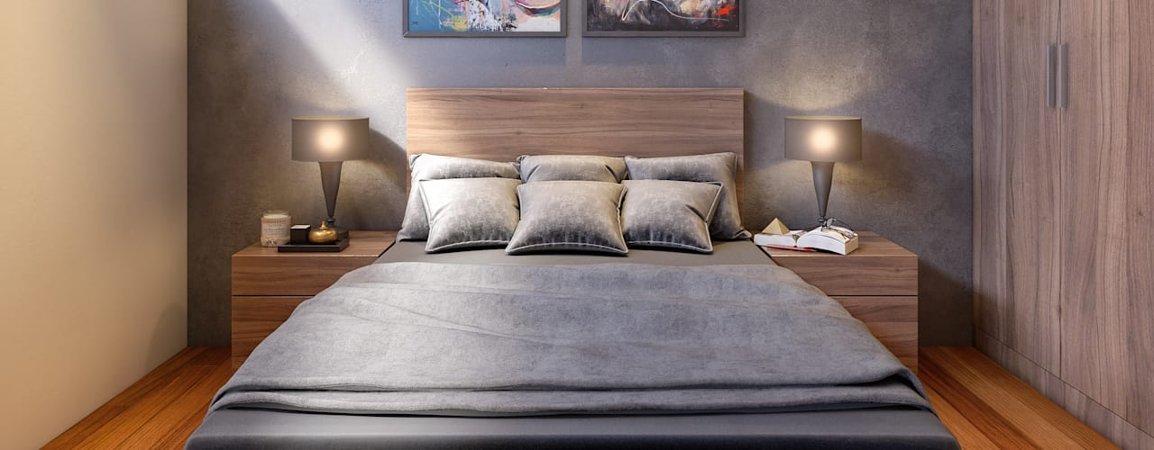 Modern style bedroom by CARCO Arquitectura y Construccion Modern