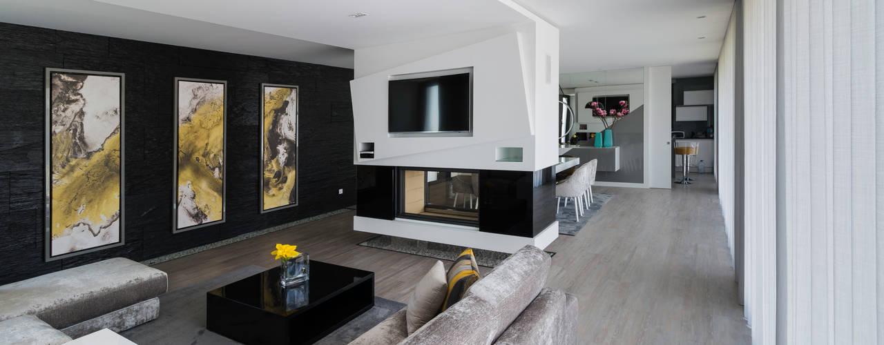 Sala de Estar: Salas de estar modernas por UNISSIMA Home Couture