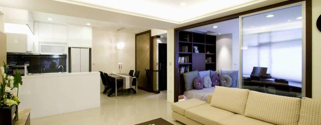 台北市遼寧街老公寓住宅改造案 根據 Hi+Design/Interior.Architecture. 寰邑空間設計 隨意取材風