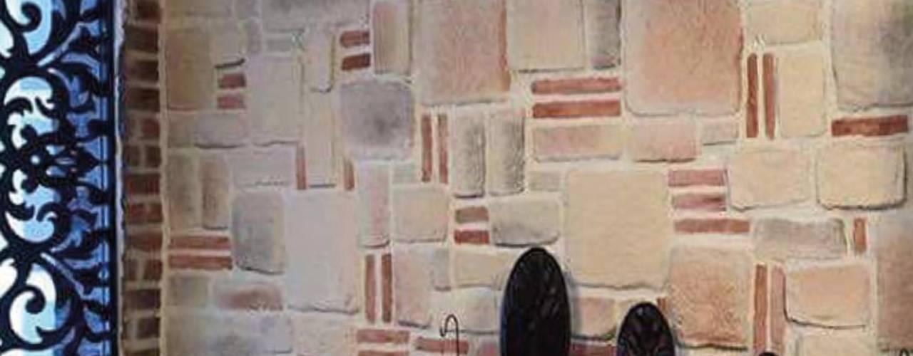 Doğal Taş Uygulamaları Modern Duvar & Zemin Rock Stone Doğal Taş Mimari Uygulamalar Modern