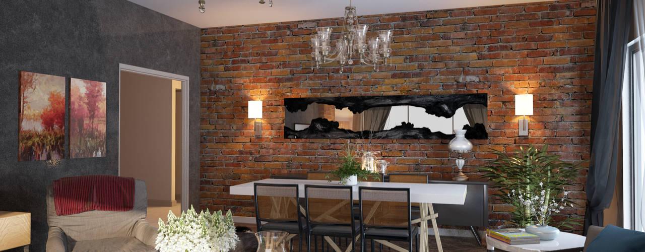 Salones de estilo moderno de Öykü İç Mimarlık Moderno