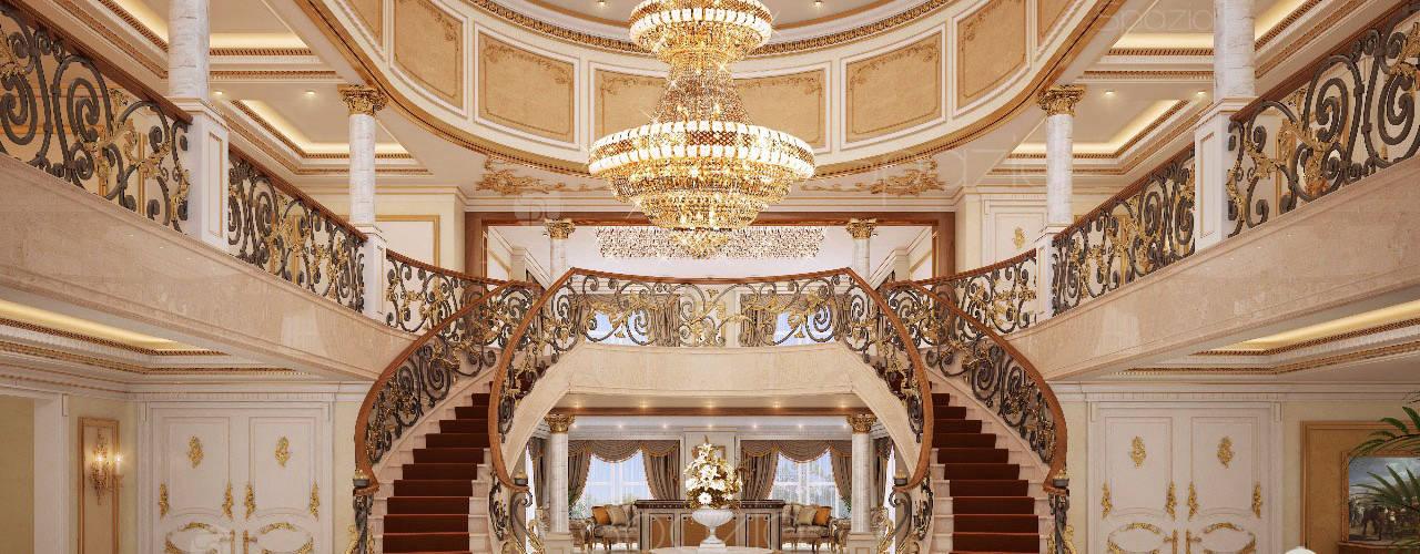 :  الممر والمدخل تنفيذ Spazio Interior Decoration LLC,كلاسيكي