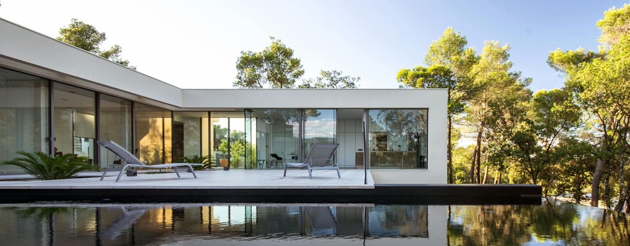 Oleh Brengues Le Pavec architectes Minimalis
