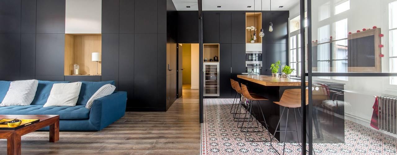 Кухня в стиле минимализм от Brengues Le Pavec architectes Минимализм