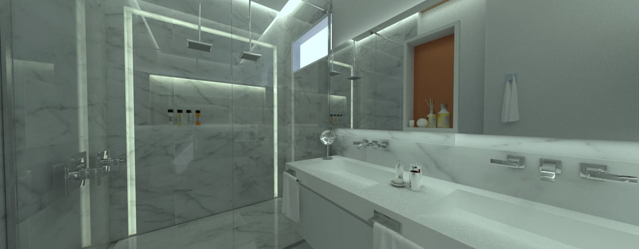 Industrial style bathroom by homify Industrial