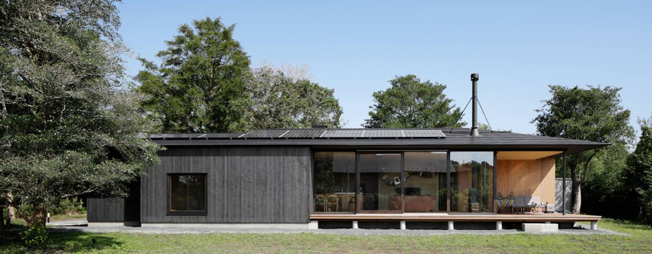 052いすみ市岬町Oさんの家 日本家屋・アジアの家 の atelier137 ARCHITECTURAL DESIGN OFFICE 和風