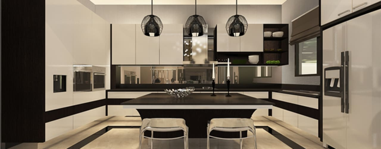 Teratai House:  Dapur by Arci Design Studio