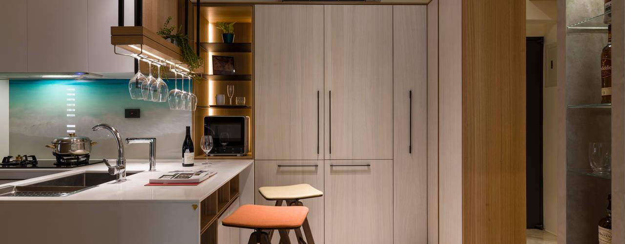 مطبخ تنفيذ 楊允幀空間設計