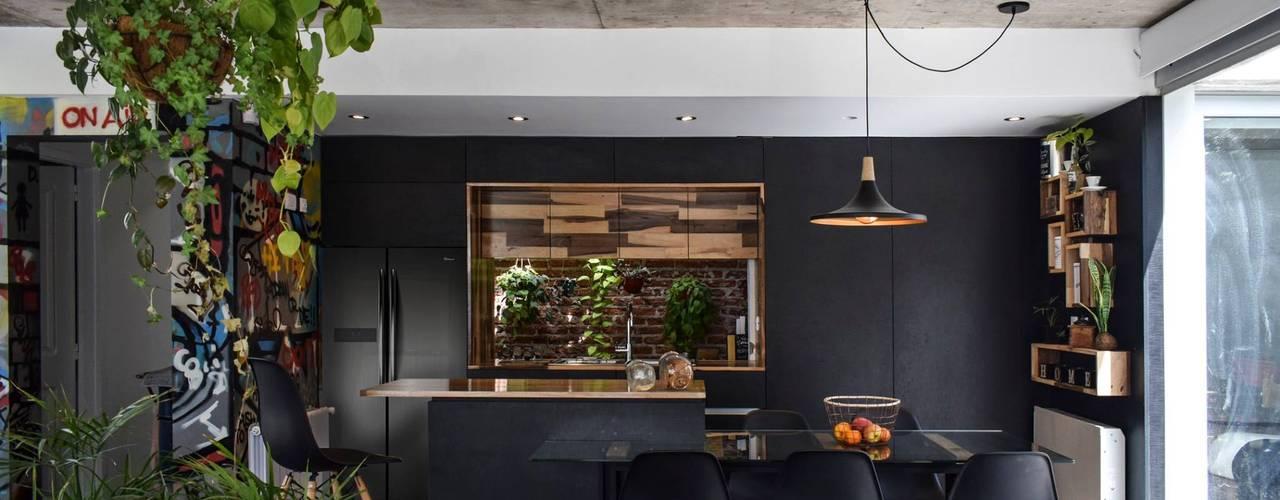 Moderne Wohnzimmer von estudio M Modern