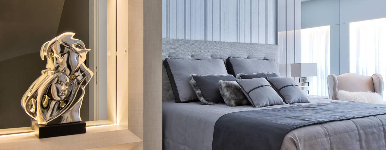 Reforma Sobrado Residencial Quartos modernos por Ana Crivellaro Moderno