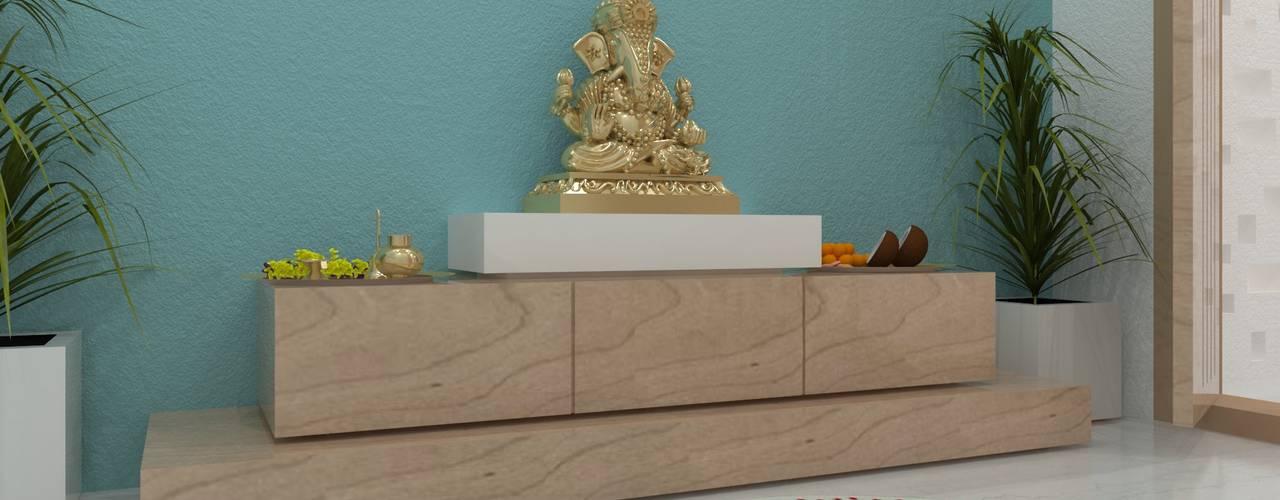 Koridor & Tangga Minimalis Oleh Ravi Prakash Architect Minimalis