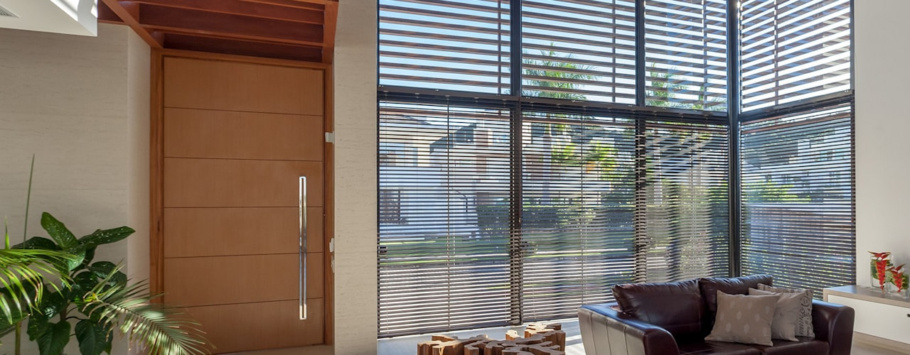 Modern living room by Ruschel Arquitetura e Urbanismo Modern