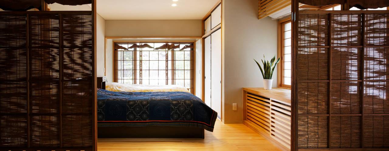 きじまのいえ 株式会社 自由工房 モダンスタイルの寝室