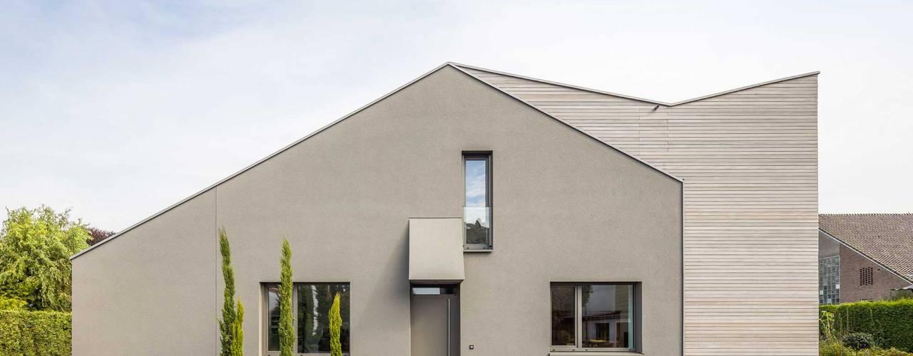 Kerzenmanufaktur Ansicht : moderne Häuser von ZHAC / Zweering Helmus Architektur+Consulting