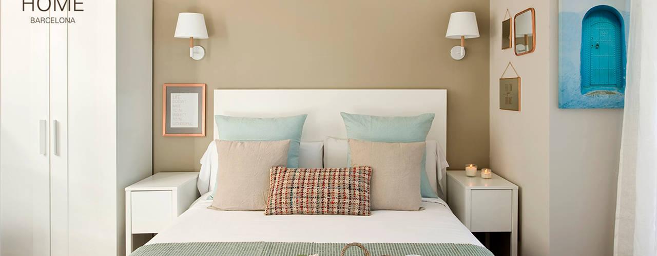 Kamar Tidur Gaya Mediteran Oleh Nice home barcelona Mediteran