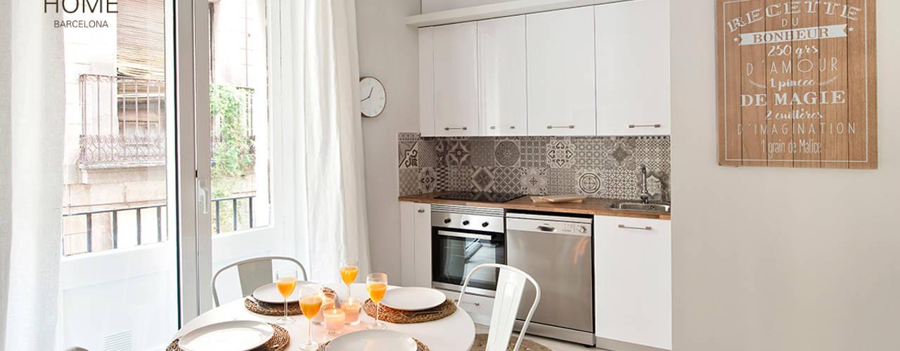 Cocinas de estilo mediterráneo de Nice home barcelona Mediterráneo
