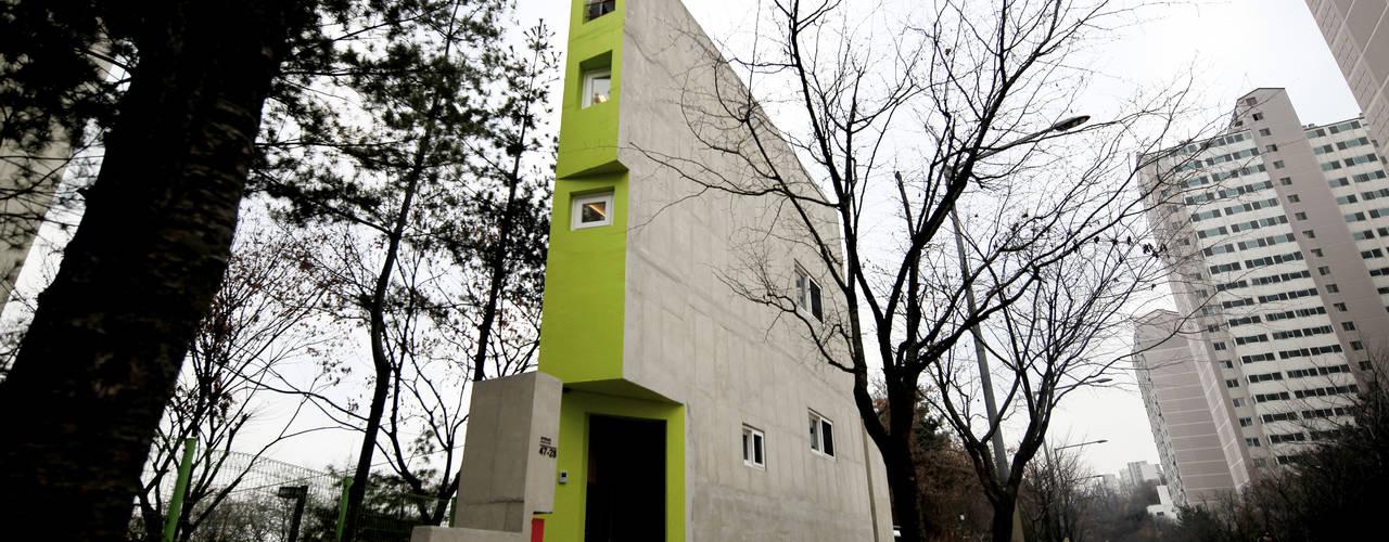 SAI_190  [바람이 불어오는 집]: yoonzip interior architecture의  주택