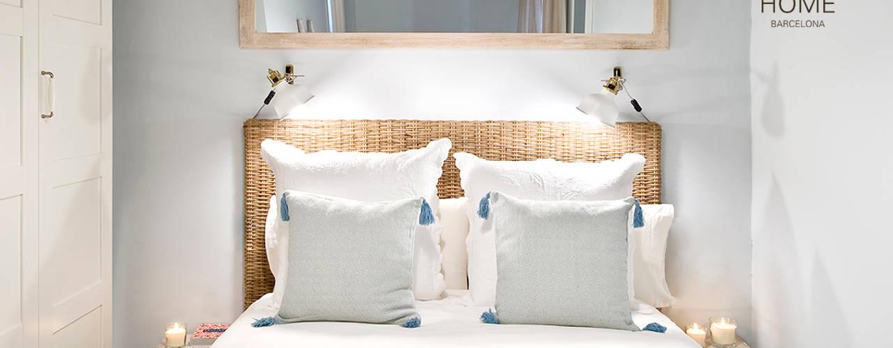 Proyecto Ramblas Nice home barcelona Dormitorios de estilo mediterráneo