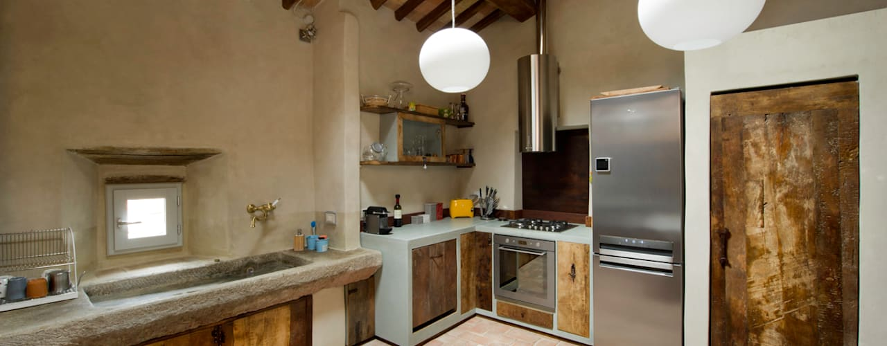 Laquercia21 Industrial style kitchen