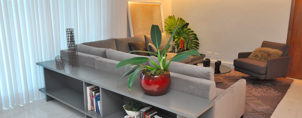 Gislene Soeiro Arquitetura e Interiores Modern living room