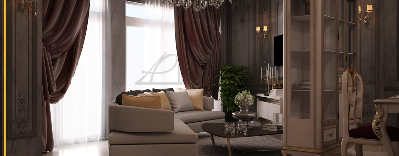 Classic style living room by homify Classic