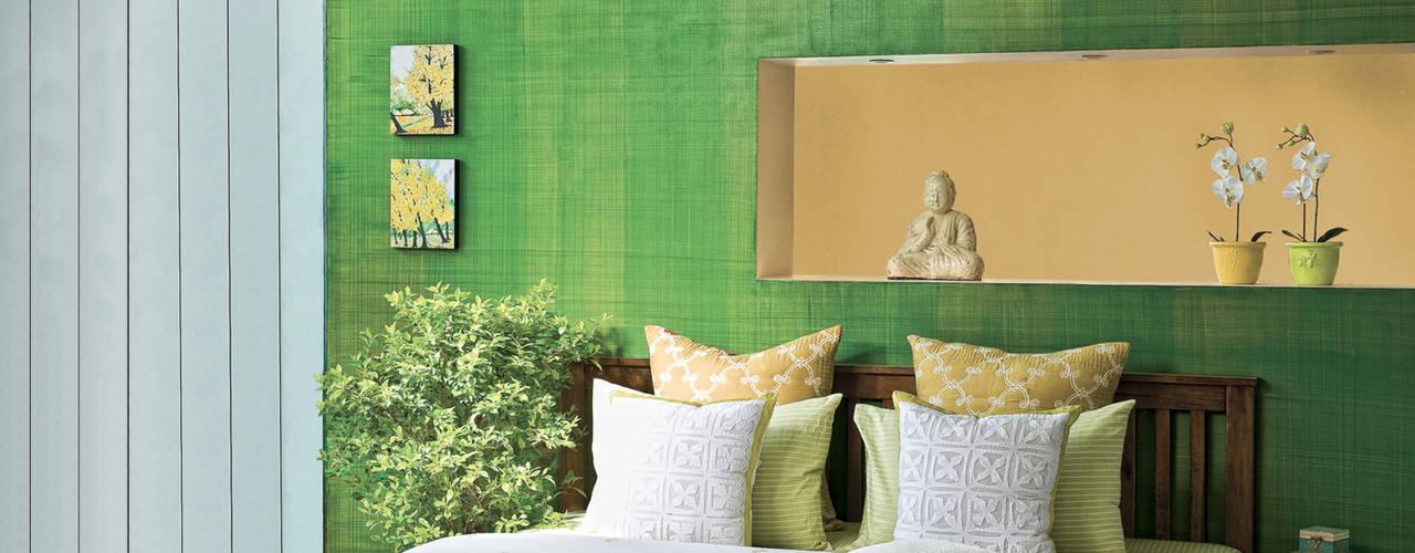 Phòng ngủ phong cách nhiệt đới bởi Papersky Studio Nhiệt đới