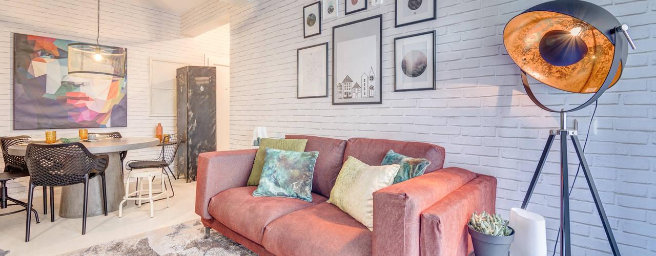 Santiago | Interior Design Studio Living room Grey