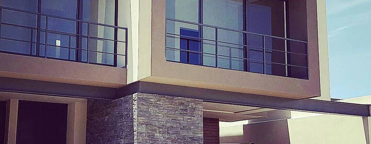 C-19 Casas modernas de Xome Arquitectos Moderno
