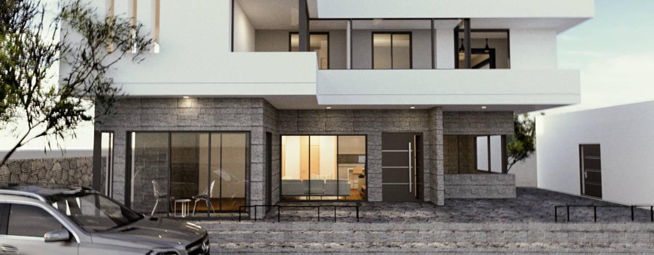 제주도 서귀포시 성산읍 라메종베니 게스트하우스 리모델링공사: 디자인 이업의  전원 주택