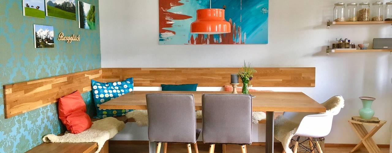 Salas de jantar modernas por WAND & SOFA Raumgestaltung Moderno
