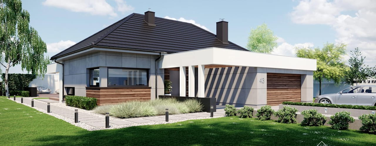 designer kuchen kleine raume komfort alle familienmitflieder, viel komfort auf wenig raum: ein bungalow für die kleine familie, Design ideen