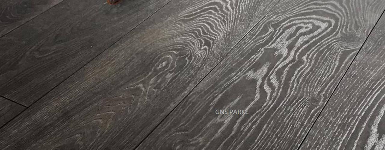 Gns Parke – Siyah Solid Сhrome Meşe 12mm Laminat Parke:  tarz Zeminler