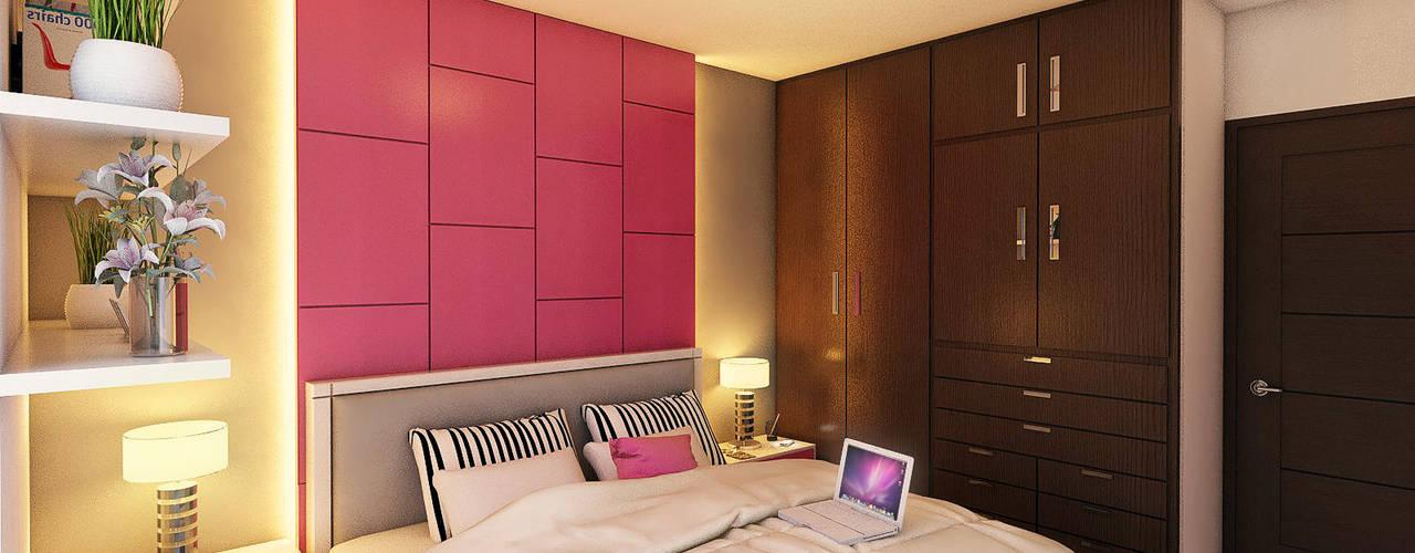 Remodelación Casa SL-01 GRUPO ESCALA ARQUITECTOS Dormitorios infantiles modernos