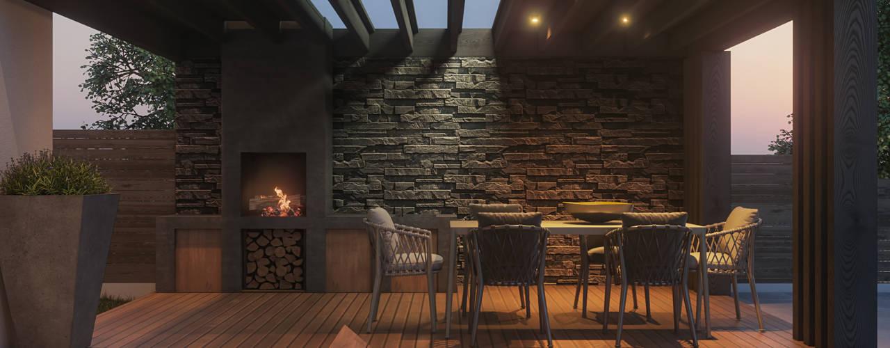Projekty,  Domy zaprojektowane przez Tobi Architects