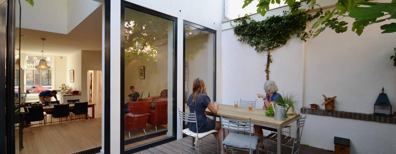 Verbouwing woning - Utrecht Wittevrouwen ARCHiD Moderne tuinen
