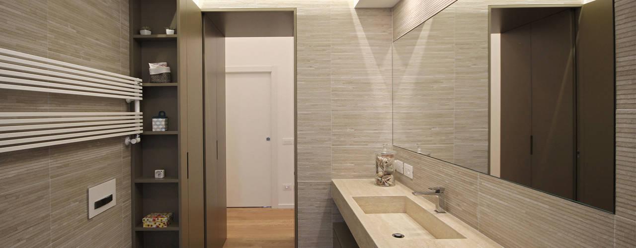 Interior Design Sartoriale a Milano Bagno moderno di JFD - Juri Favilli Design Moderno