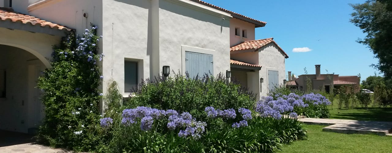 Diseño y Construcción de Casa en Haras San Pablo por Estudio Dillon Terzaghi Arquitectura: Casas de estilo  por Estudio Dillon Terzaghi Arquitectura - Pilar