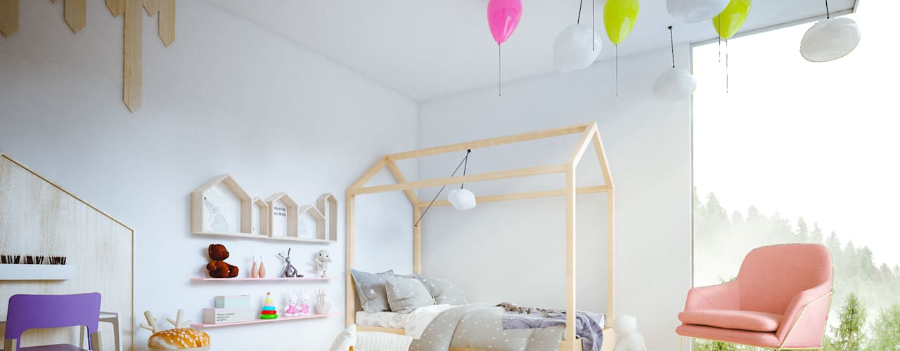 Nursery/kid's room by Adrede Diseño, Modern