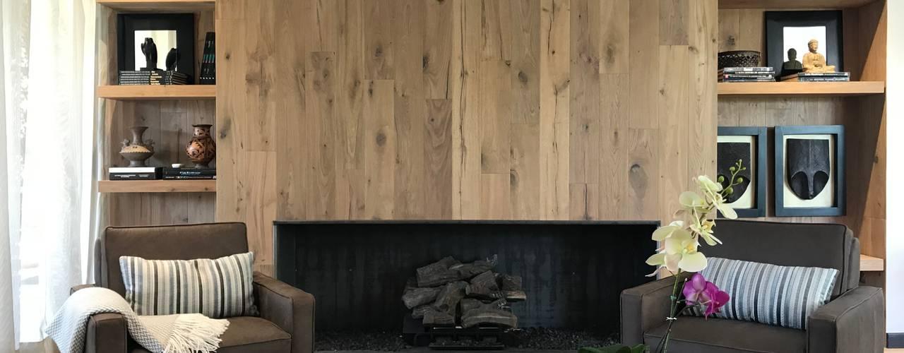 casa de campo: Salas de estilo  por Ecologik, Ecléctico