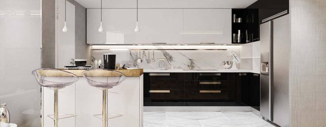 Nhà bếp phong cách hiện đại bởi homify Hiện đại