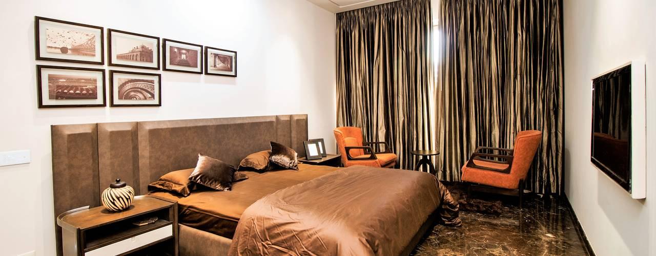 APARTMENT - RATNAKAR CALEDONIA Asian style bedroom by DESIGNER'S CIRCLE Asian