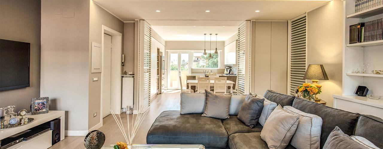 Projekty,  Podłogi zaprojektowane przez MOB ARCHITECTS