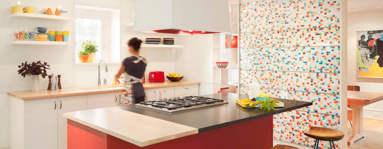 Nhà bếp phong cách chiết trung bởi Metcalfe Architecture & Design Chiết trung