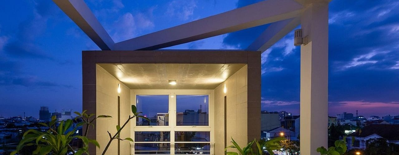 Terrazas de estilo  de Công ty TNHH Xây Dựng TM – DV Song Phát, Moderno