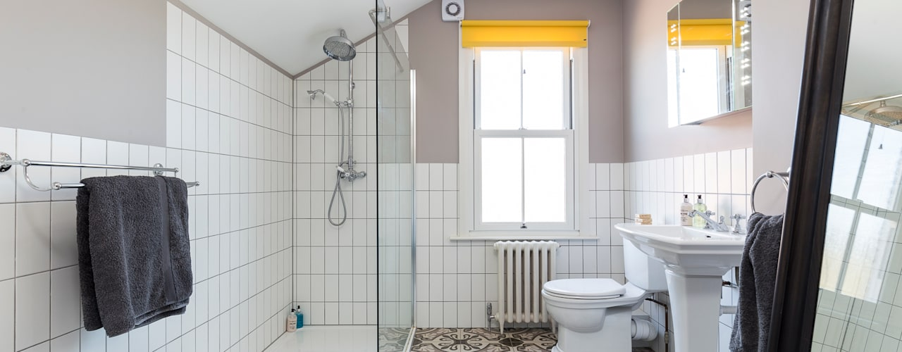 Walk In Showers For Small Bathrooms Clever Design Tips Homify