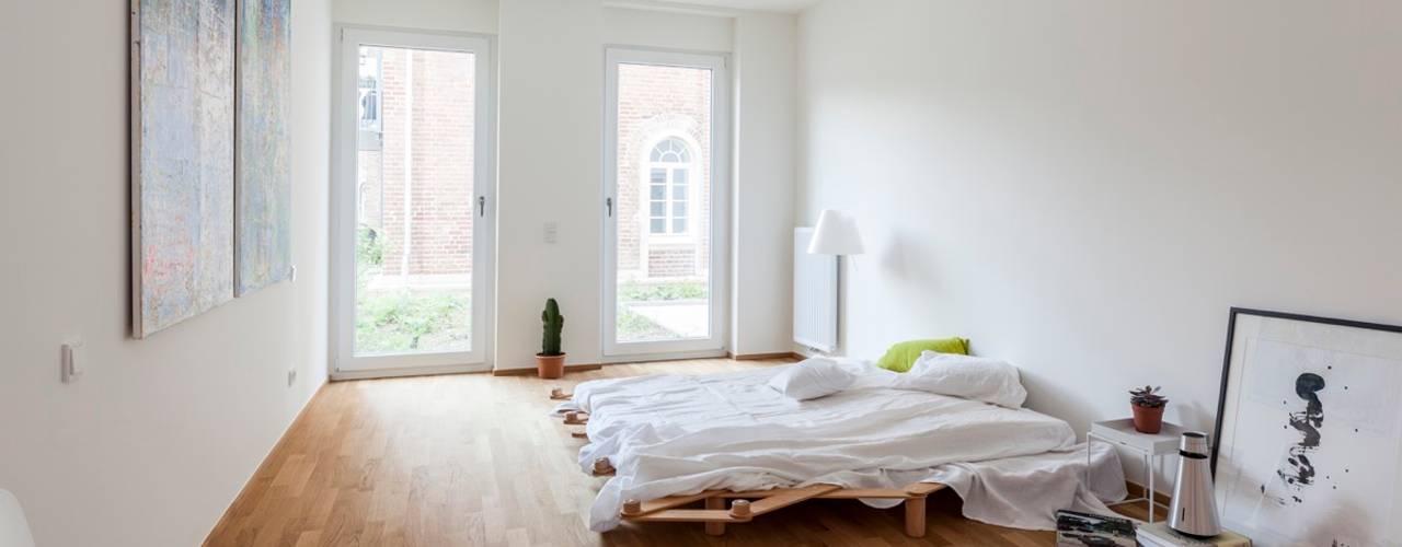 Projekty,  Sypialnia zaprojektowane przez Massimo Del Prete Fotografie