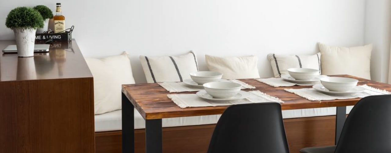 Industrial style dining room by Bhavana Industrial