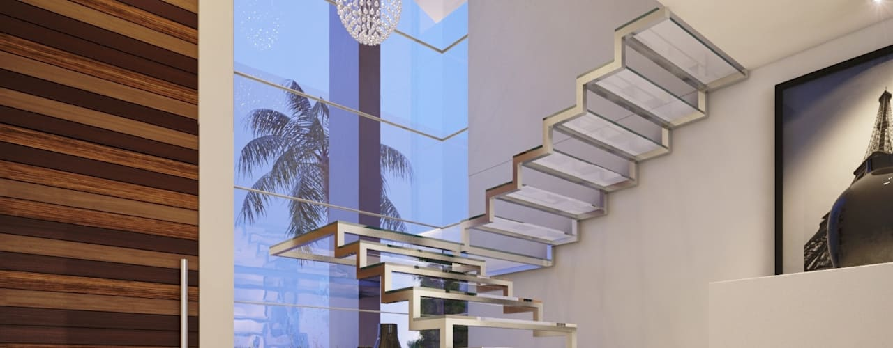 Stairs by Camila Pimenta | Arquitetura + Interiores