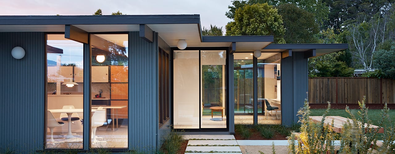 Mid-Mod Eichler Addition Remodel by Klopf Architecture:  Houses by Klopf Architecture